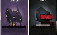 Spoznáte ilustrácie domov známych režisérov podľa ich filmovej tvorby?