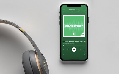 Spúšťame prvý Refresher podcast. Obľúbené rozhovory teraz nájdeš aj na Spotify, Apple Podcasts či Google podcastoch