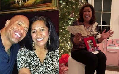 """Srdečný Dwayne """"The Rock"""" Johnson obdaroval svoju mamu novým domom. Odvďačil sa jej tým za skvelú výchovu"""