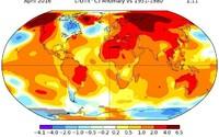 Stane sa rok 2016 najteplejším rokom v celej histórii? Prvé mesiace prekonávajú teplotné rekordy s obrovskými rozdielmi