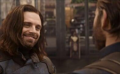 Stane sa z Captaina Americu v Infinity War Nomad a preberie po ňom Bucky slávny štít? Režiséri už niečo naznačujú