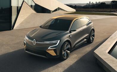 Stane se z tradičního Méganu elektromobil? Koncept s dojezdem 450 km to naznačuje