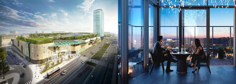 Stanica Nivy sa začína budovať a rozhodne nepôjde len o dopravu. Súčasťou budú aj obrovská záhrada či neprekonateľné výhľady na mesto