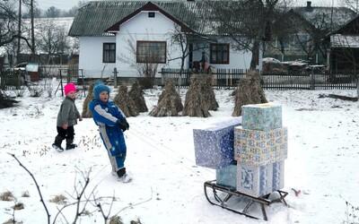 Staňte se Ježíšky a udělejte krásnější Vánoce ukrajinským dětem v nouzi