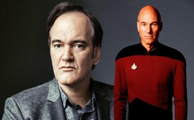 Star Trek film od Tarantina dostane rating R a vrátiť by sa mal aj legendárny kapitán Picard v podaní Patricka Stewarta