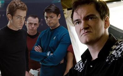 Star Trek filmu od Quentina Tarantina sa možno predsa len dočkáme. Spoločne s J. J. Abramsom už údajne pracujú na scenári