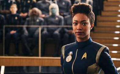 Star Trek sa vracia. Druhá séria Discovery láka na vizuálne ohromujúce a akčné dobrodružstvo
