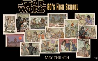 Star Wars ako retro komiks zo strednej školy?