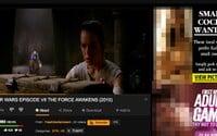 Star Wars, Marťan aj Vlk z Wall Street. Na PornHube sa dajú okrem porna pozerať aj kasové trháky, ak vieš, kde ich hľadať
