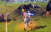 Star Wars plně ovládl Fortnite. Přibyly světelné meče a laserové zbraně či skiny Stormtroopera