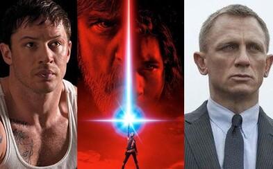 Star Wars vo svojom tíme pravdepodobne uvíta okrem Daniela Craiga aj Toma Hardyho či princa Harryho a Williama