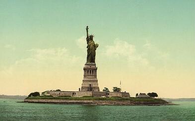 Staré americké pohľadnice ukazujúce New York na prelome storočí ožili aj vďaka dodaniu jedinečných farieb