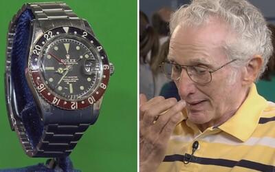 Stařečka dojala hodnota jeho Rolexek ze 60. let. Doufal, že dostane aspoň 1 500 dolarů, ale suma byla mnohem vyšší