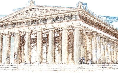 Starověké památky ožily díky animacím. Podívejte se, jak se změnily v průběhu století