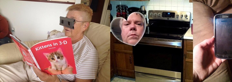 Starší ľudia vedia pri práci s technológiami poriadne zazmätkovať. Slúchadlá predsa v zásuvke nemajú čo robiť