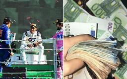 Šťastný Fin vsadil 5 korun a vyhrál téměř 900 tisíc korun. Uhodl šílený výsledek závodů F1 v Monze