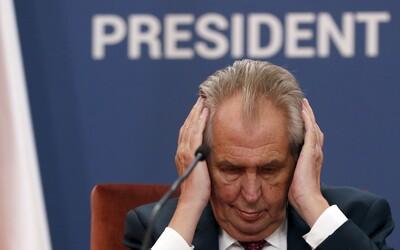 Stát se musí omluvit Šarapatkovi za výrok prezidenta Zemana