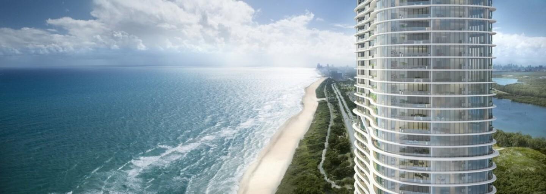 Stavba luxusní budovy na Floridě ještě ani nezačala, ale penthouse se už prodal za 21 milionů dolarů