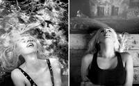 Šteklivá séria fotografií zachytáva ženy v momente, keď dosahujú orgazmus. Výrazy tváre sa u každej líšia