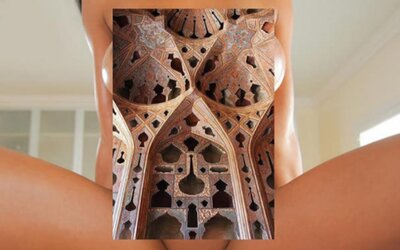Šteklivé spojenie nahého ženského tela a kreativity vytvára obrázky, ktoré v tebe prebudia podvedomého perverzáka