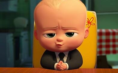 Šteniatka, pozor! Hovoriace a inteligentné nemluvňa vám v animovanej komédii Baby šéf pôjde po krku!