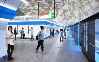 Stěny s automatickými dveřmi, vlaky bez řidiče, podsvícené stanice. DPP ukázal, jak budou vypadat stanice metra D