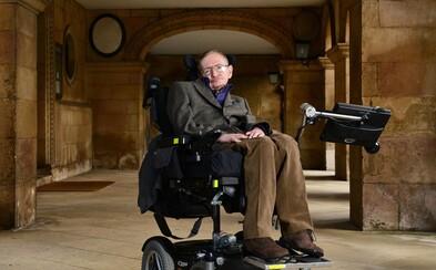 Stephenu Hawkingovi se splní sen, vydá se zkoumat vesmír. Komerční let za 200 000 dolarů dostal jako poctu