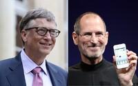 Steve Jobs dětem technologie zakazoval, Bill Gates jim dal první mobil ve čtrnácti