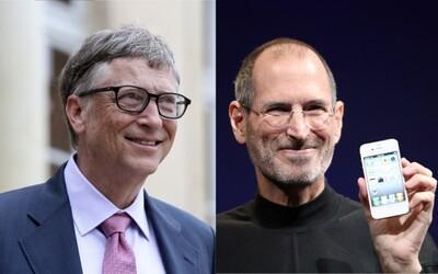 Steve Jobs deťom technológie zakazoval, Bill Gates im dal prvý mobil v štrnástich
