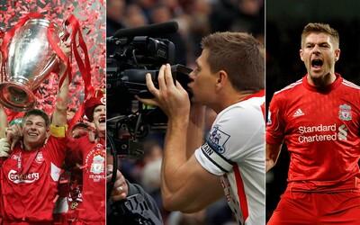 Steven Gerrard - ikona Liverpoolu a obrovský líder, ktorý vyhecoval tím k neskutočnému istanbulskému obratu
