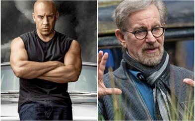 Steven Spielberg podľa Vina Diesela povedal, že ak hviezda Rýchlo a zbesilo nebude režírovať, pôjde o zločin kinematografie