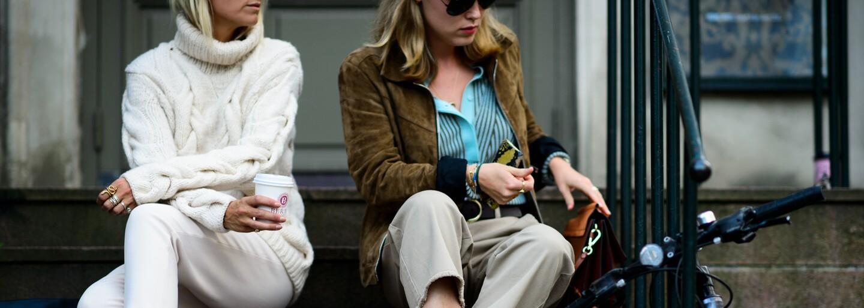 Stockholm žije celý srpen módou a outfity v ulicích překonávají všechna očekávání