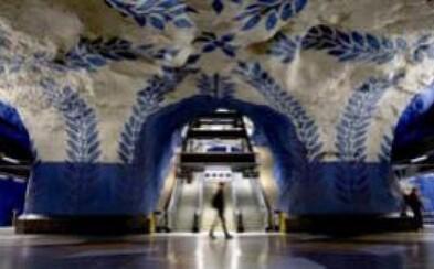 Štokholmské metro: Najdlhšia galéria na svete