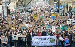 Stovky studentů v pátek vyrazí do ulic. Budou stávkovat za klima