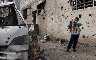 Strach a nuda. Takto žijí obyvatelé kdysi nádherného Damašku