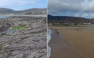 Stratená pláž sa objavila po dlhých 33 rokoch vďaka zvláštnemu prílivu. Až 300-metrový pieskový pás prilákal naspäť aj turistov