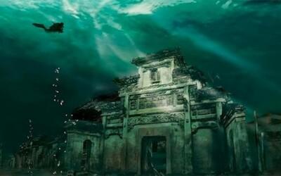 Stratené podmorské mesto znovu objavené v Číne