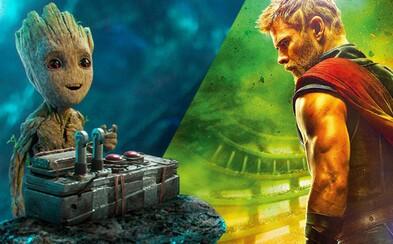 Strážcovia Galaxie sa objavia v Thor: Love and Thunder. Christian Bale bude hrať záporáka
