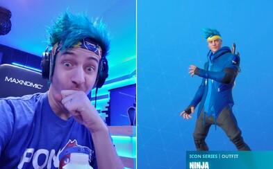 Streamer Ninja má vlastný skin vo Fortnite, môže hrať sám za seba