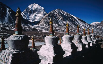 Stred planéty, vesmíru či domov bohov. Posvätná hora Kailas je jedným z mála miest, kam ešte nevkročila ľudská noha