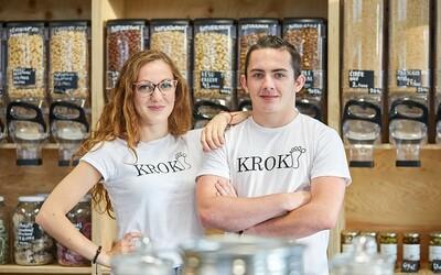 Středoškoláci z Trutnova založili obchod bez obalů. Po maturitě by rádi připojili i domácí pekárnu