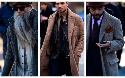 Street Style záběry ve znamení pánské elegance z letošního Pitti Uomo ve Florencii