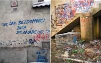Streetartista Santiago predstaví svoje diela na SPOTS #14 v zatopenom pancierovom kryte