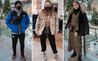 Streetstyle: Boli sme sa pozrieť, ako sa obliekajú mladí ľudia v predvianočnom období