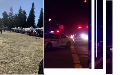 Střelec v Kalifornii zabil čtyři lidi, patnáct jich je zraněno