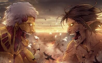 Strhujúce anime Attack on Titan ťa pohltí fascinujúcim svetom, nečakanými zvratmi, úmrtiami a súbojmi s kolosálnymi obrami