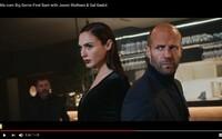 Strhujúci akčný reklamný spot spája sexy Gal Gadot a impozantného Jasona Stathama
