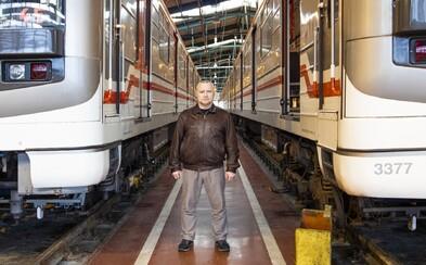 Strojvedoucí metra: Zajímavých faktů o metru je dost, ale vědět je nemůžete. Graffiti mi připomíná zápis z EKG (Rozhovor)