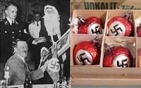 Stromeček ozdobený svastikami, cukroví ve tvaru symbolů SS nebo rasistické písně. Takto se nacisté pokoušeli ukrást Vánoce