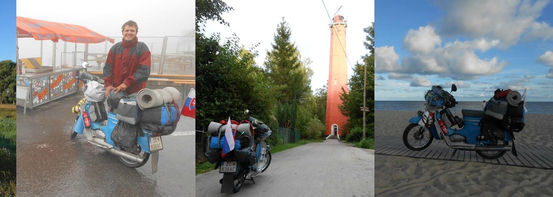 Študent Rudolf precestoval na staručkom Pionieri 12 európskych štátov za 20 dní: Ak chcete cestovať, nehľadajte si moc dôvodov, prečo to nejde, jednoducho vyrazte (Rozhovor)